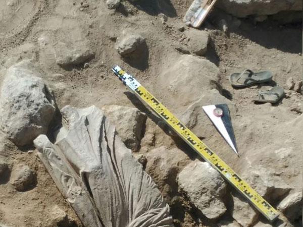 Археологи отыскали неповторимую античную статую измрамора вКрыму