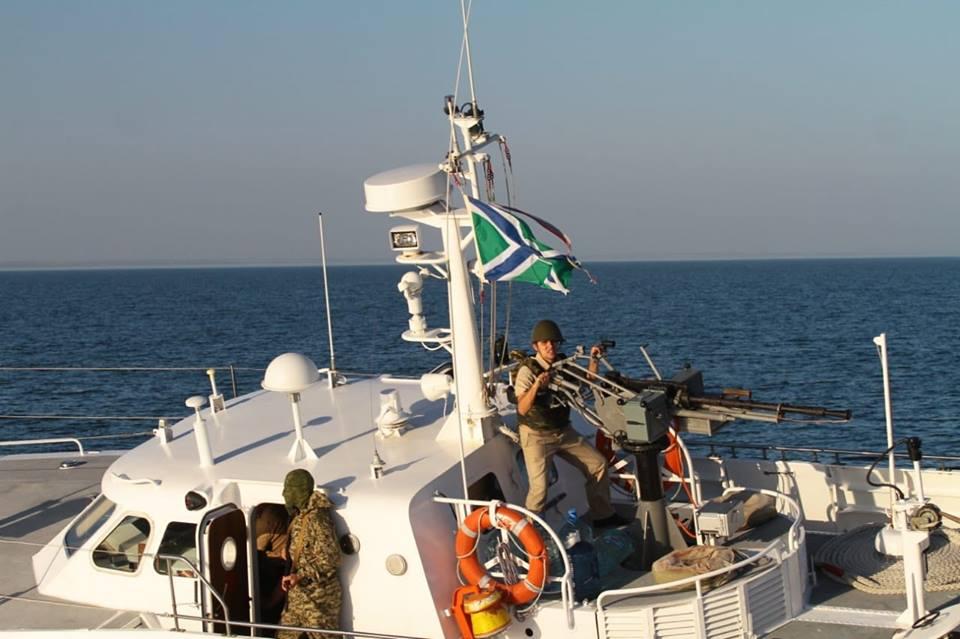 ФСБРФ опасно провоцировала украинских пограничников вАзовском море