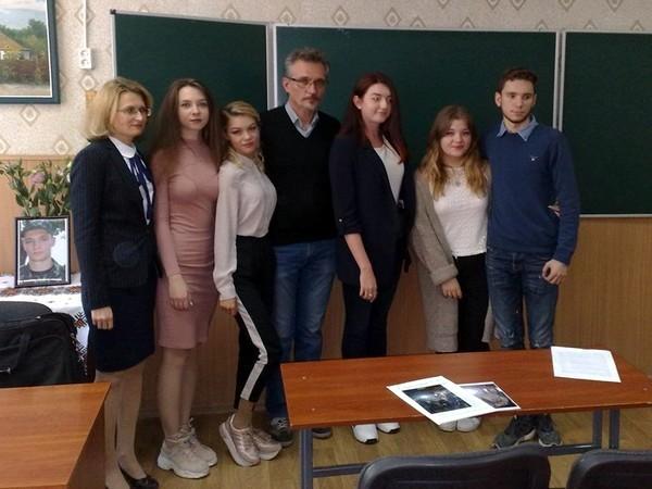 Школьники получили письмо от учителя, погибшего в Донецком аэропорту, фото-2