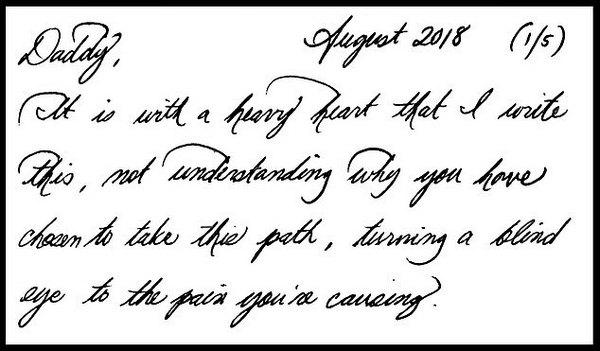 Меган Маркл - опубликовано личное письмо Меган Маркл ее отцу ...