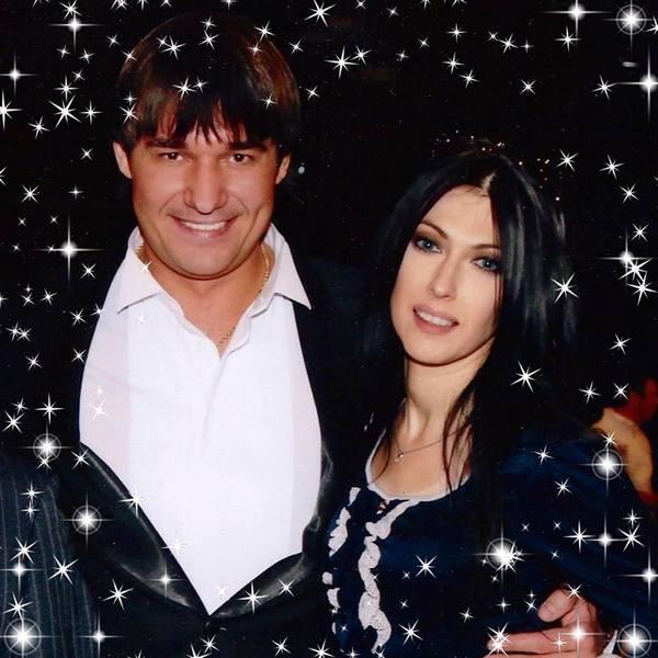 Симона Бородина с мужем