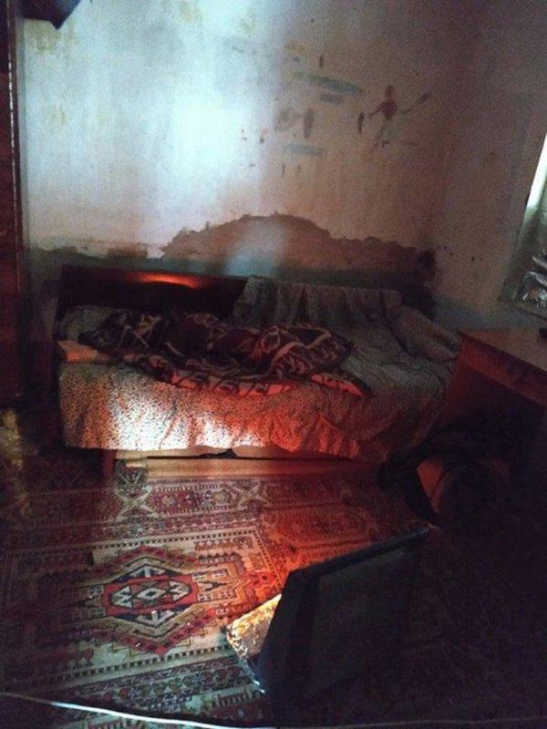 В доме женщины царила антисанитария