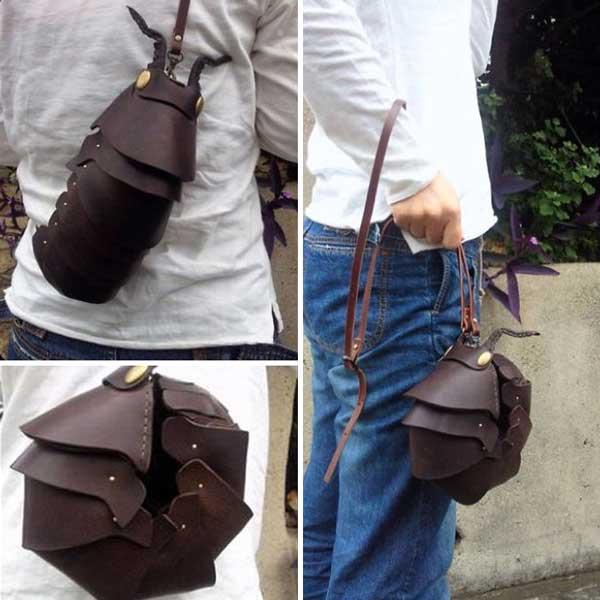 В Японии запустили новый тренд на сумки-насекомые. Фото