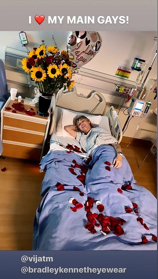 Майли Сайрус загремела в больницу: что произошло