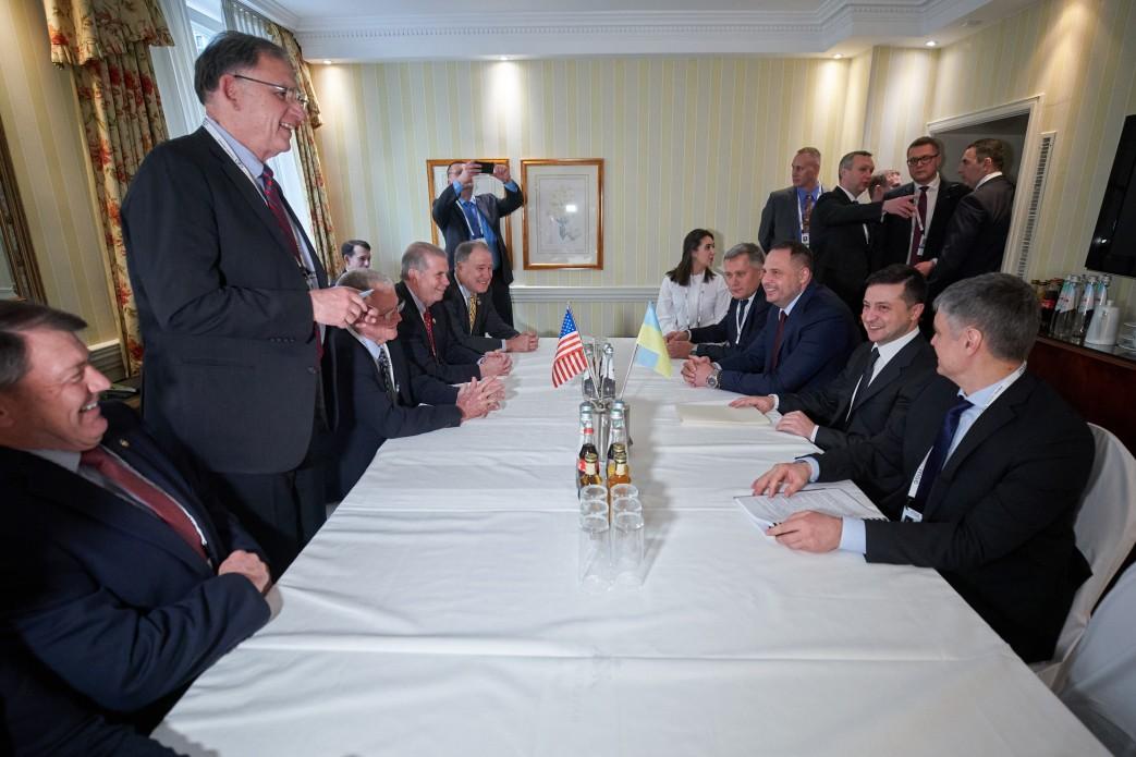 Зеленський в Мюнхені зустрівся з Цукербергом і главою МВФ