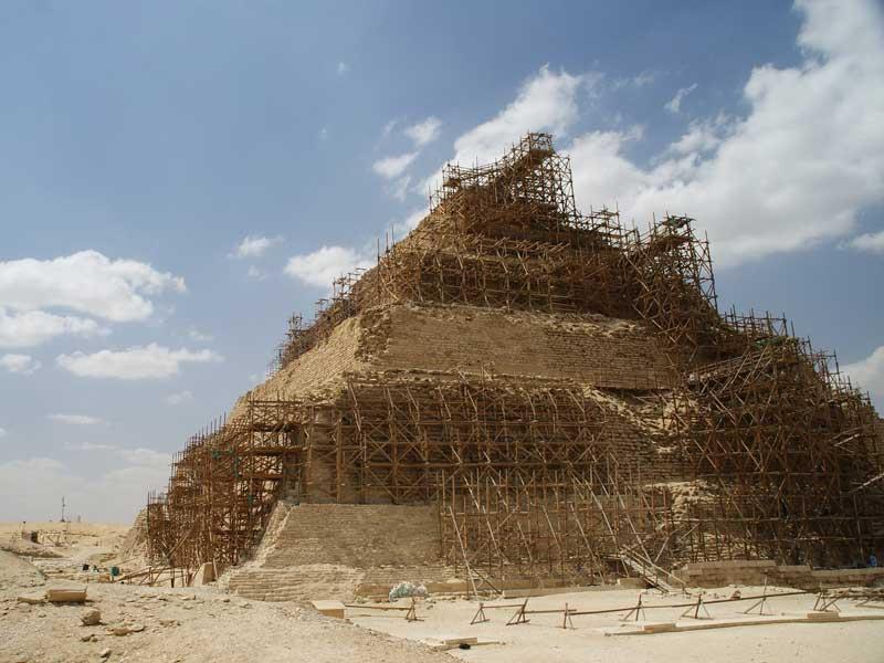 Египет впервые с 1930 года открыл для посещения самую древнюю пирамиду