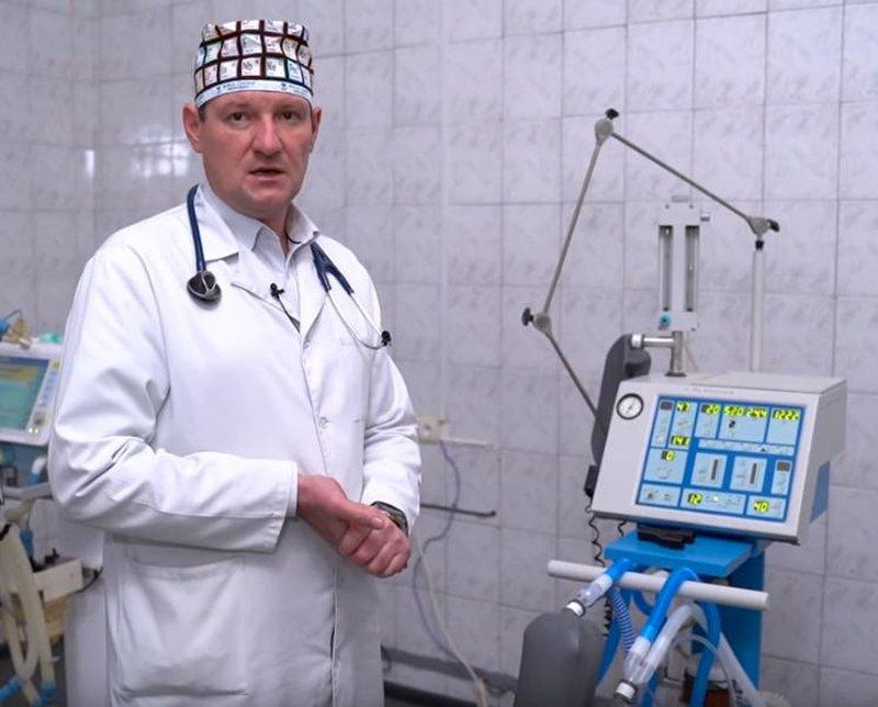 В Україні створили пристрій, що дозволяє врятувати від коронавируса вдвічі більше життів