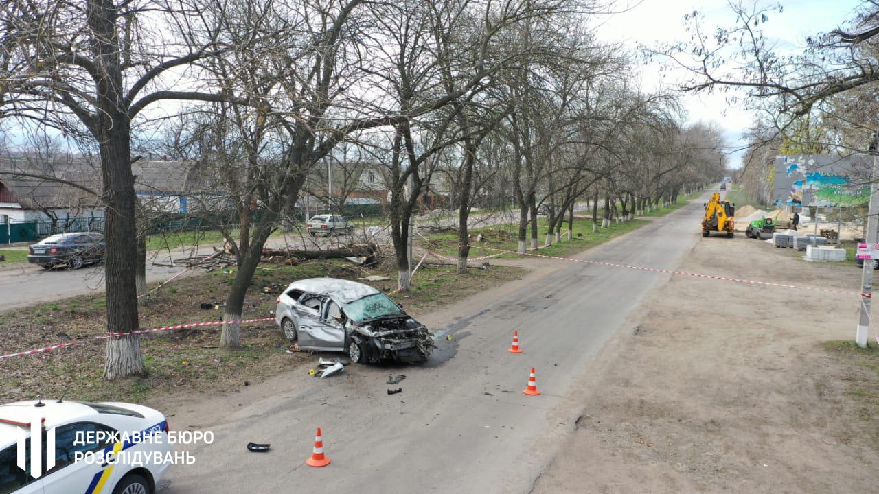 У Кіровоградській області п'яний поліцейський влаштував смертельну аварію