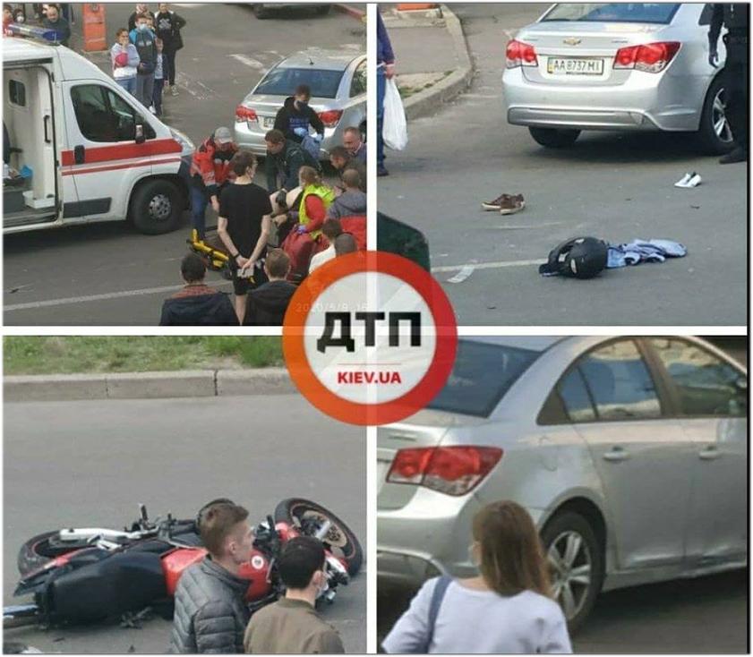 У Києві в страшному ДТП загинув молодий байкер