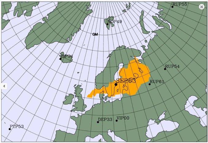 На севере Европы зафиксировали повышенный уровень радиации: источник выбросов может находиться в России