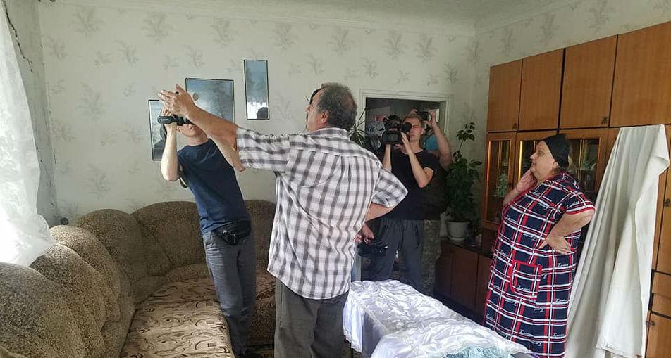 На Донбассе боевики обстреляли дом, где проходили похороны