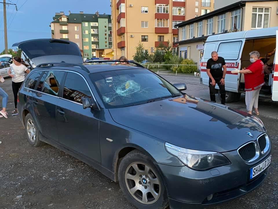 Полиция задержала стрелка, ранившего в Ужгороде двоих мужчин